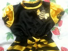 Bee Dress 2T by lishyloo on Etsy, $10.00