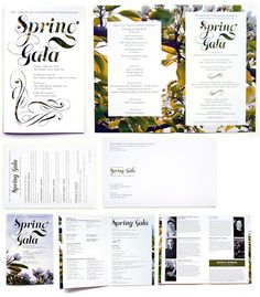 Invitation and program for the American-Scandinavian Foundation's annual Spring Gala.