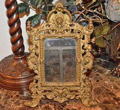 Antique French Bronze Picture Photo Frame Lion Gargoyle Griffins 2 Available