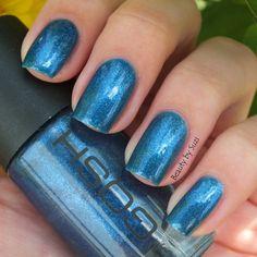 GOSH Nail Lacquer, 574 Blue Monday #goshcosmetics #nails