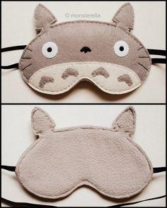 Totoro sleep mask