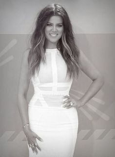Khloe Kardashian/ HOW AMAZING IS KHLOE HERE?  WHEN WILL THESE GIRLS LEARN THAT YOU DON'T HAVE TO SHOW EVERYTHING TO BE BEAUTIFUL.  SHE'S ACTUALLY QUITE STUNNING!  WHO KNEW?