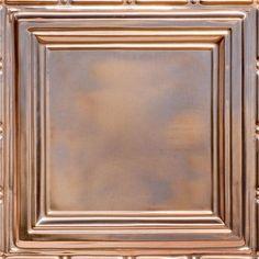 """Union Square - Copper Ceiling Tile - 24""""""""x24"""""""" - #2429"""