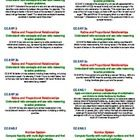 """These 2"""" X 4"""" labels take each Common Core 6th Grade Math  standards and organizes it so they can be used in lesson plans, on folders, in your teac..."""