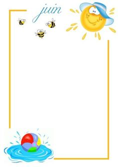 .. Fiche collage photo mois de Juin .. Bullet Journal Month, Writing Prompts For Kids, Collage, Front Door Design, Borders And Frames, Babysitting, Blog, Binder, Stencils