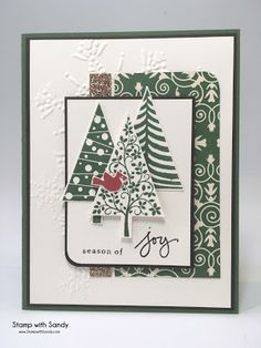 Stamp with Sandy: Season of Joy, Festival of Trees and Endless Wishes Stamp Sets, Stampin' Up