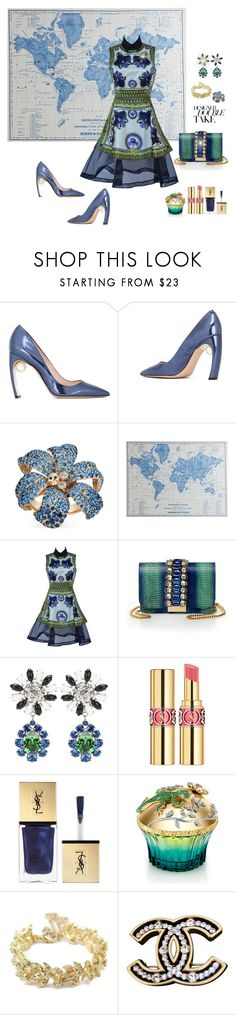"""Givenchy Fall 2011"" by deborah-518 ❤ liked on Polyvore featuring Nicholas Kirkwood, Gucci, Pier 1 Imports, Givenchy, GEDEBE, Miu Miu, Yves Saint Laurent, House of Sillage and Chanel"