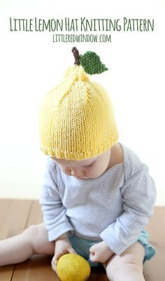 Child Knitting Patterns When life offers you lemons…make a little bit lemon hat with this free knitting sample! Oh my gosh, you guys, Child V is a lemon! How cute is… Baby Knitting Patterns Baby Knitting Patterns, Baby Patterns, Crochet Patterns, Stitch Patterns, Sweater Patterns, Summer Knitting, Knitting For Kids, Free Knitting, Knitting Projects