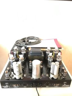RARE Futterman Model H3 OTL tube amplifier. Julius Futterman signature