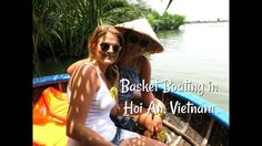 I was lucky enough to visit Hoi An last month. I went on an Eco Tour and got up to many exciting things. I rode a Water Buffalo, cycled the Hoi An country si. Hoi An, My Ride, Boating, Vietnam, Gypsy, Basket, Adventure, Purple, Sailing