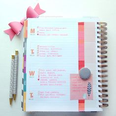 I'm still not fully settled on how to use my gorgeous @inkwellpress planner but this latest setup is definitely working perfectly for my summer. Very simplistic decorations (a bit of washi and sticky notes) and bullet journal style planning. Small tip: if you are too busy or lazy to decorate just use some colorful pens and your planner will look effortlessly adorable. #inkwellpress #inkwellpresssociety #inkwellpressplanner #iwp #iwpplanner #planner #planning #planneraddict #plannernerd
