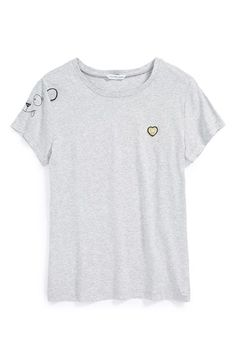LITTLE MARC JACOBS Heart Patch Tee (Toddler Girls, Little Girls & Big Girls) available at #Nordstrom