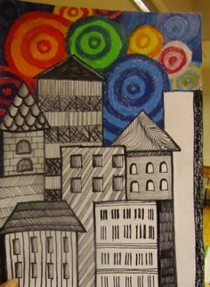 new year Kandinsky Art, 5th Grade Art, Drawing Projects, School Art Projects, Spring Art, Middle School Art, Art Classroom, Art Plastique, Art Activities