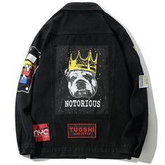 Denim Jacket Men, Denim Jackets, Men's Denim, Jansport Backpack, 90s Fashion, Sleeve Styles, Motorcycle Jacket, Shirt Style, Sleeves
