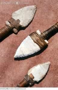 Cherokee Arrow and Spear Heads