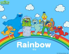 Wallpaper Of Sesame Street Learn Japanese For Fans Elmo Rainbow