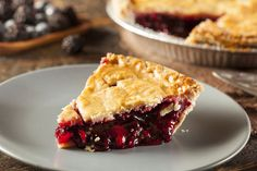 Wolfgang Puck's Blueberry Pie with Teff Pastry Crust, a healthier take on a classic dessert. #recipe