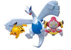 Model Kit Pokemon Lugia, Pikachu