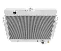 Champion Four Row Aluminum Radiator 1963-1968 GM Impala Bel Air Chevelle MC289