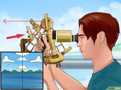 To use a sextant to find the angle of elevation of an object, you'll need to know your elevation above sea level. Boat Navigation, Navigation Lights, December Solstice, Solar Time, Ligne D Horizon, Friedrich Ii, Tropic Of Capricorn, Sailboat Living, Hubble Images