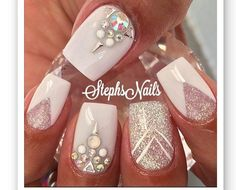 nice 20 Nail Art Designs and Ideas That You Will Love - Nails Update Get Nails, Fancy Nails, Love Nails, Hair And Nails, Fabulous Nails, Gorgeous Nails, Pretty Nails, Manicure E Pedicure, New Nail Art