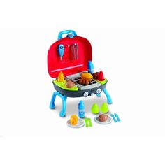 Childrens Kids Wooden Carpenters Engineer Tool Box Toy