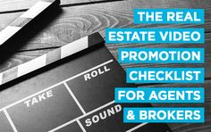 Download our free real estate video marketing checklist featuring dozens of tips and tricks that can help agents and brokers make the most of their videos. http://plcstr.com/29sxtNH #realestate #video