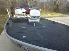 V-hull aluminum boat mod