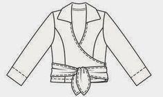 Carolina Creates  Burda 6/2006 model 110, wrap blouse