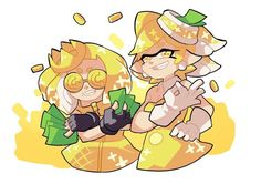 Marie and pearl