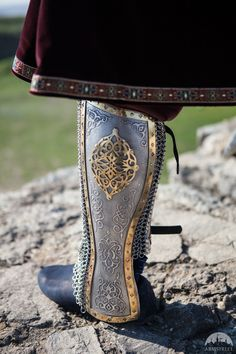 Medieval Stainless Greaves