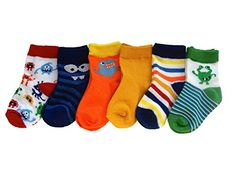 Trimfit Baby Boys Monster Themed Bootie Socks 6-Pack Multi Color M / 6 - 12 months Trimfit http://www.amazon.com/dp/B00STSRSBO/ref=cm_sw_r_pi_dp_Hywqvb1DBEXG4