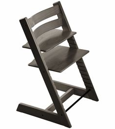 Stokke TRIPP TRAPP with Baby Set and Tray - Black The Stokke Tripp Trapp Chair gives your child a boost in comfort, support, and confidence. Chaise Stokke, Chaise Tripp Trapp, Outdoor Chairs, Outdoor Furniture, Outdoor Decor, Ergonomic Chair, Folding Chair, Scandinavian Design, Chair Design