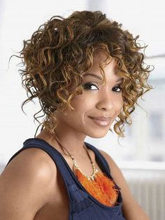 Cheap wig holder, Buy Quality wig curly directly from China wig miku Suppliers: Best Kinky Curly Short Wigs For Black Women Synthetic Wigs Brown Wig Perruque Synthetic Women Pelucas Pelo Natural Pruiken Soft Short Natural Curly Hair, Short Curly Hairstyles For Women, Haircuts For Curly Hair, Curly Hair Cuts, Wavy Hair, Easy Hairstyles, Curly Hair Styles, Natural Hair Styles, Curly Afro
