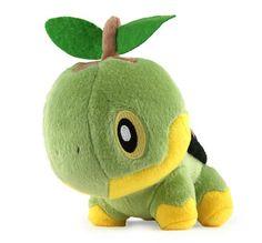 pokemon stuffed animals | pokemon diamond pearl 6 plush figure turtwig japanese import pokemon ...