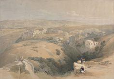David Roberts. 1839 Bethlehem.