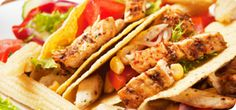 Whether you prefer beef, fish, or vegetarian ingredients, here are six taco recipes sure to make your mouth water. Grilled Chicken Tacos, Lime Chicken Tacos, Crockpot Chicken Healthy, Mexican Chicken Recipes, Crockpot Ideas, Baked Chicken Breast, Chicken Breasts, Fried Chicken, Easy Dinner Recipes
