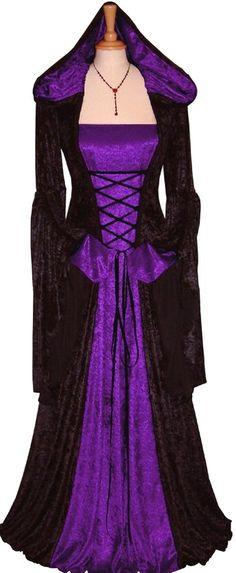 Medieval dress, medieval look, medieval style