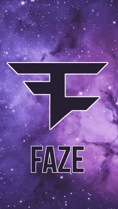 faze logo wallpaper iphone. purple space and stars faze logo wallpaper iphone a