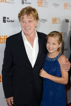 Robert Redford and Jackie Evancho at event of The Company You Keep