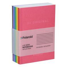 Color Spectrum Mini Notebooks (Set of Stationary Supplies, Stationary School, Cool School Supplies, Diy Supplies, Cool Notebooks, Cute Notebooks For School, College Notebook, Notebook Design, Pen And Paper