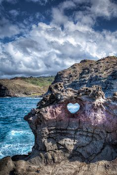 Heart Shaped Rock, Maui, Hawaii http://fldesignerguides.co.uk/honeymoons/blog/