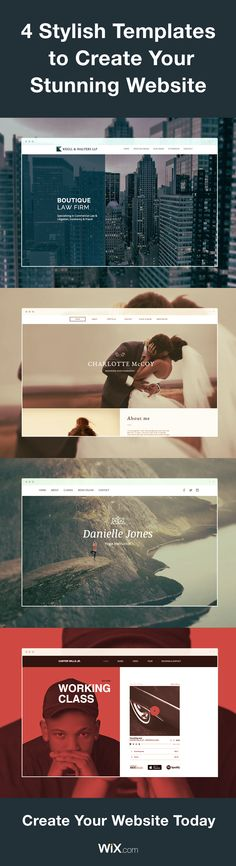 Building your own website has never been easier. Just choose a template, customize it, and hit publish. It's that easy!