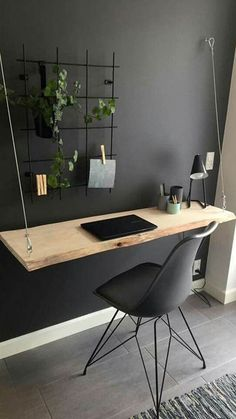 Home Office Organization, Home Office Decor, Desk Office, Study Office, Office Interior Design, Office Interiors, Home Design, Diy Computer Desk, Gaming Computer