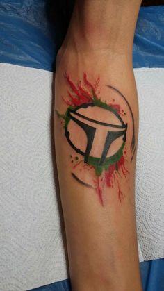 Bobafett tattoo