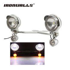 2 Led Turn Signal Lamp For Harley Honda Home Generous Universal Skull Motorcycle Tail Brake Stop Light