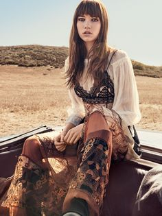 Grace Hartzel by Craig McDean for Vogue US March 2016