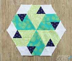 Jaybird Quilts: Sweet Tooth Block 1 - Peppermint Swirl (And a Queen Size Quilt Option!)