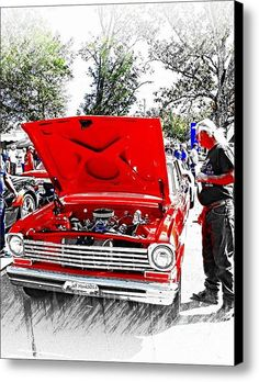 Friday Night Memories Canvas Print / Canvas Art By Jeff Monk