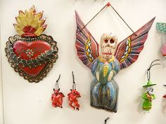 Mexican Religious Art from Geuerro, Mexico